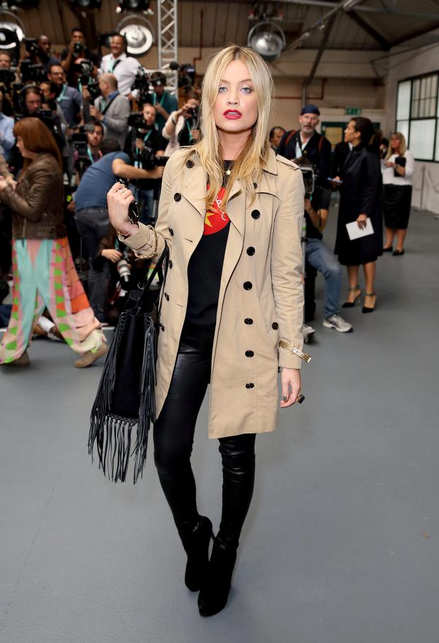 Punkish edge: Laura Whitmore. Photo: Mike Marsland/WireImage.