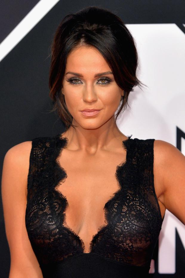 Vicky Pattison attends the MTV EMA's 2015 at the Mediolanum Forum on October 25, 2015 in Milan, Italy. (Photo by Anthony Harvey/Getty Images for MTV)