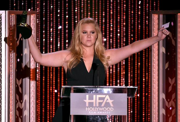 Amy Schumer has spoken out about her pre-show nerves in the early days of her career (Photo by Kevin Winter/Getty Images)