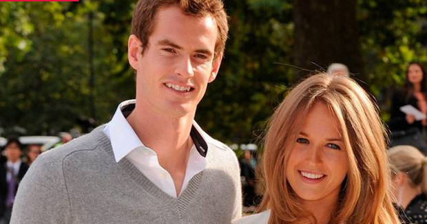 Andy Murray and wife Kim Sears have welcomed a baby girl. Photo: 2012 Rex Features.