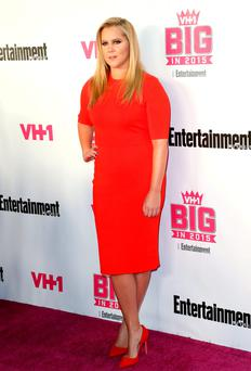At a US size six, Amy Schumer is something of an anomaly - not model thin, and not plus-sized.
