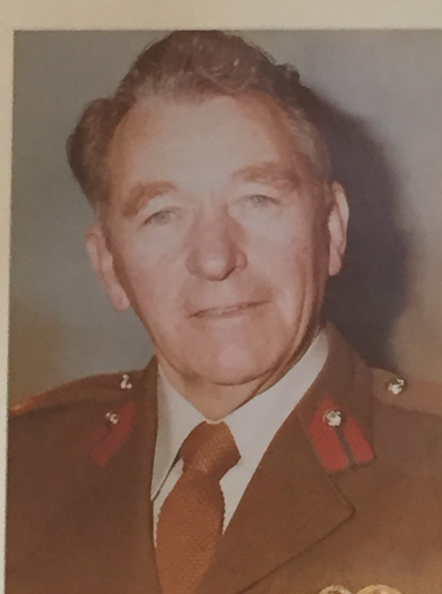 LONG SERVICE: O'Connor was in the Air Corps for 40 years