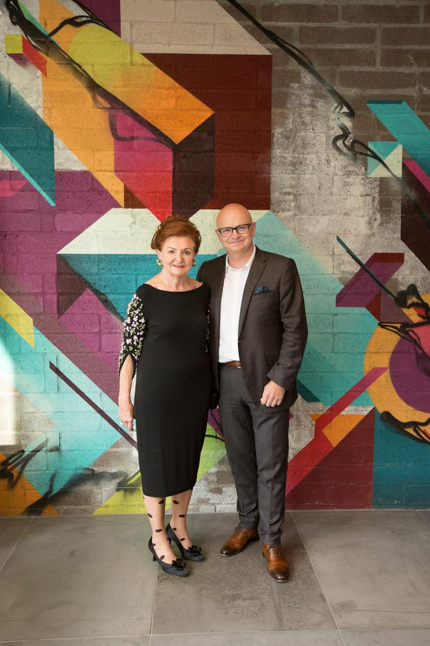 Breege O'Donoghue and Paul Marchant