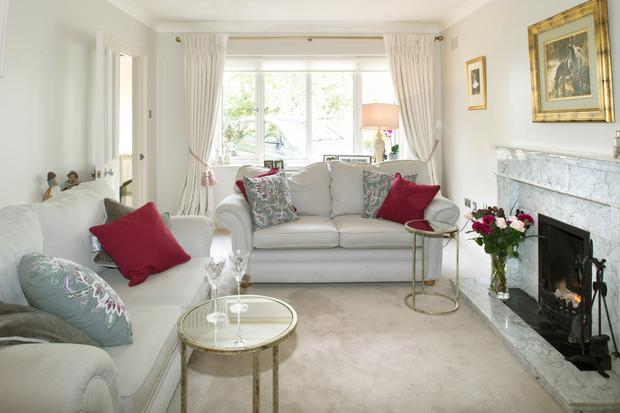 The house has a separate sitting room for grown-ups. Careena has opted for similar muted shades to those in the rest of the house, creating a calming continuity throughout