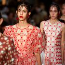 Red alert: Simone Rocha's delicate designs for spring summe