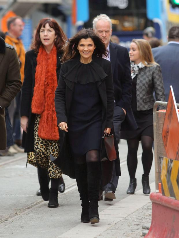 Stylish: Ali Hewson