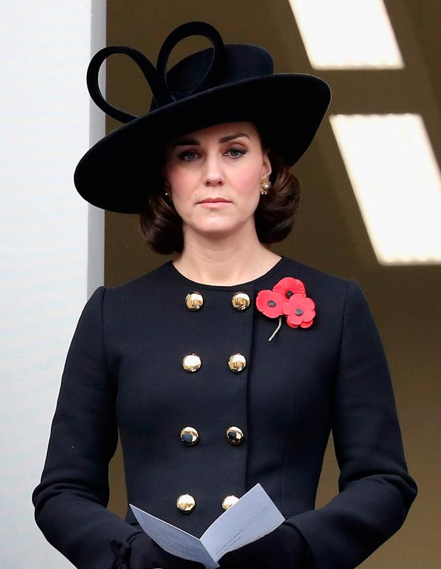 Kate Middleton wore her hair in a simple but effective 'fob' style this week Photo: Getty Images