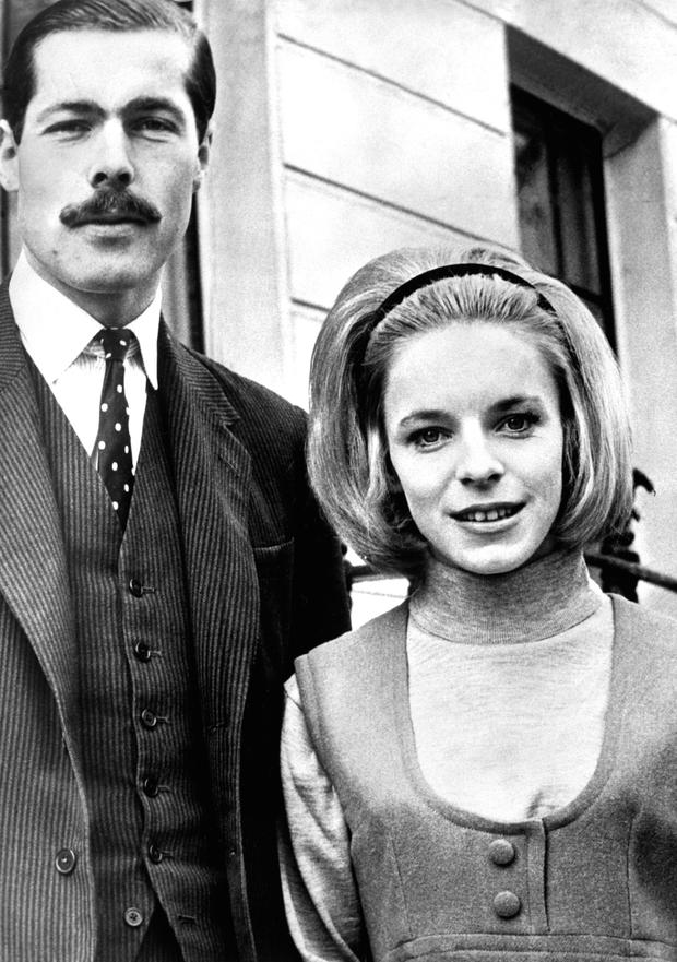 Richard John Bingham, the 7th Earl of Lucan, pictured with his wife Lady Lucan, in 1974