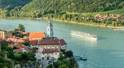 The MS Danubia makes its way serenely along the Danube, through the heart of Central Europe