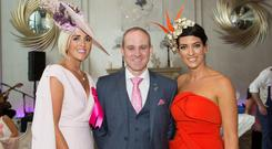 Charlene Byers, Andrew Drysdale, GM, g Hotel and Lisa McGowan at the Ladies Day After Party in the g Hotel & Spa