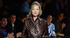 Louis Vuitton AW18 featuring Kate Moss