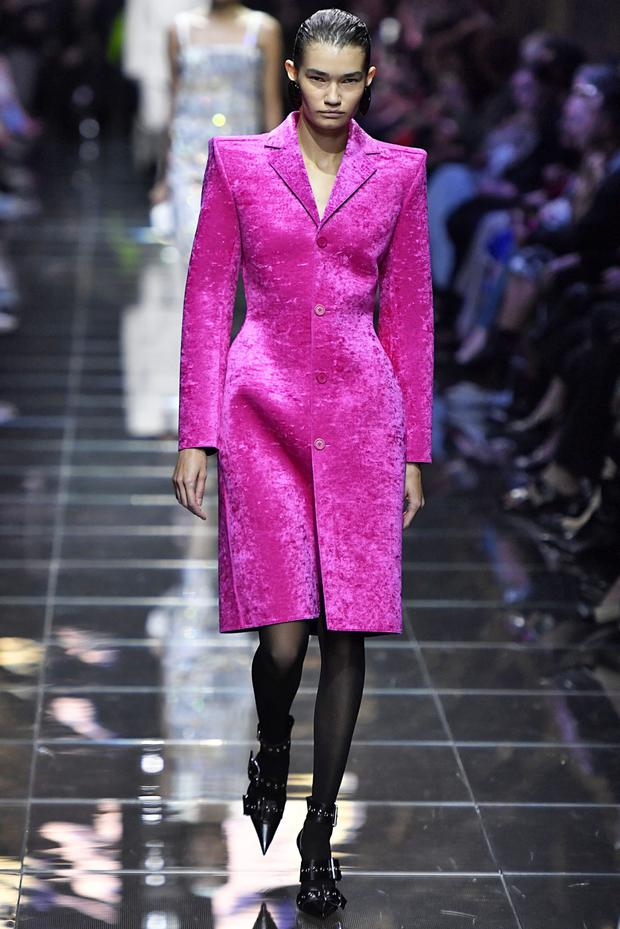 902e5cb716 Loose and comfy  Two Balenciaga Spring Summer 2019 collection designs at  last month s Paris