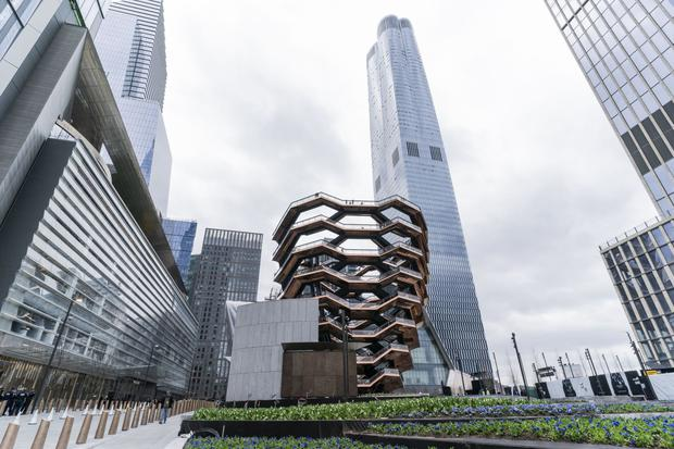 Hudson Yards, an area to the west of Midtown, has been given a massive overhaul in recent years where The Vessel takes pride of place