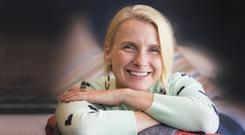 Author Elizabeth Gilbert pictured in Dublin last month by photographer Colin O'Riordan