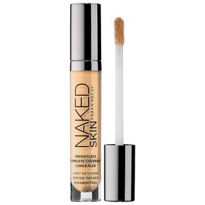 Naked Skin Weightless Complete Coverage Concealer, €22, Urban Decay, available in Debenhams stores nationwide.