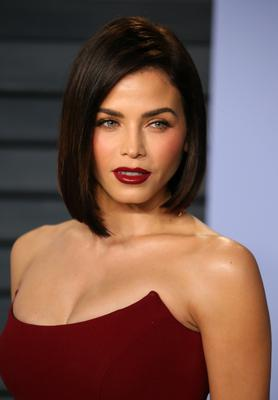 Long bobs like that seen on Jenna Dewan may prove popular. Photo: AFP via Getty Images
