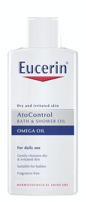 AtoControl Bath and Shower Oil, €14.25, Eucerin, Selected pharmacies nationwide