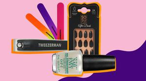 A selection of products to keep your nails in top shape