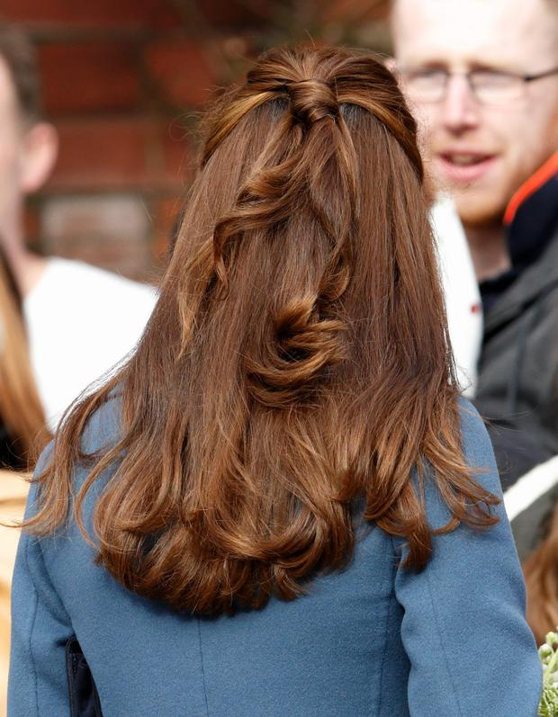 Fifty Strands Of Grey How Kate Middletons Hair Made Front Page