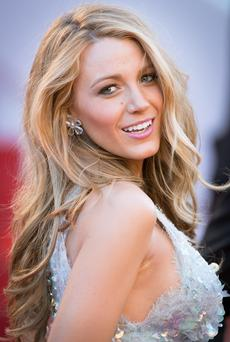 Head turner: Blake Lively has full and luscious locks