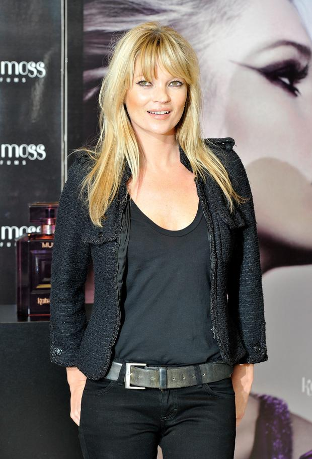 Career of notes: Kate Moss has developed a range of fragrances.