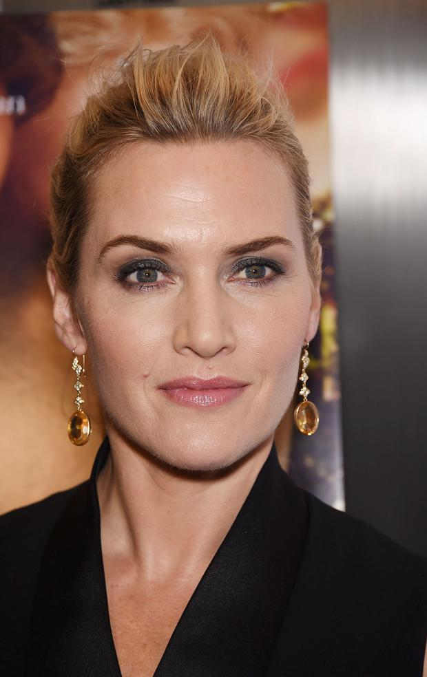 Ready for her close-up: Kate Winslet