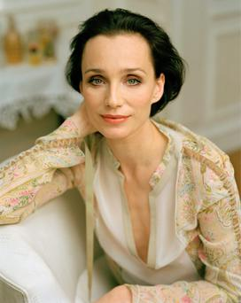 BACKLASH: English actress Kristin Scott Thomas. Photo: Camera Press/Jillian Edelstein
