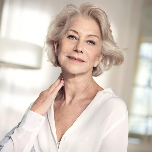 Helen Mirren for L'Oreal Paris Age Perfect