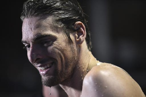 French swimmer Camille Lacourt