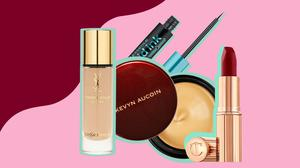 Some products Louise McSharry used for her wedding day look
