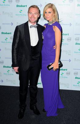 Ronan and ex wife Yvonne Connolly