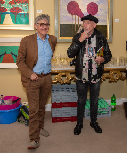 Anthony Murphy and John Minihan at The Oriel Gallery