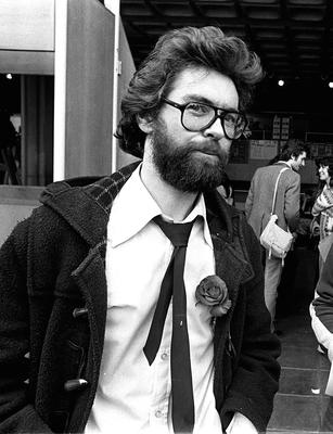 Joe Duffy in 1979 when he was part of Trinity College's Student Union.