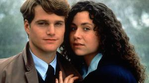 Chris O'Donnell and Minnie Driver in the film Circle of Friends