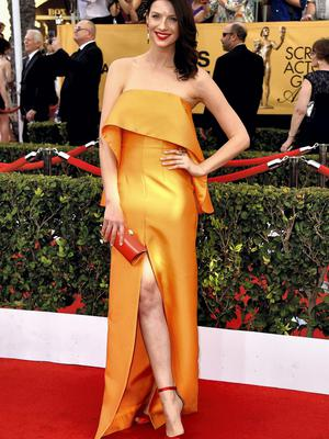 Caitriona Balfe at the Screen Actors Guild Awards 2015