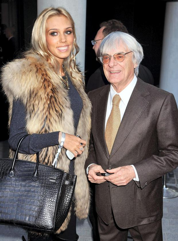 Petra Eccleston with dad Bernie.