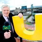 Pat Kenny at the launch of UTV Ireland.