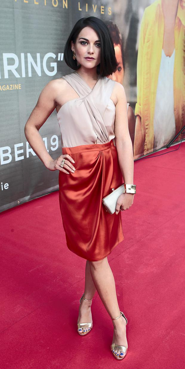 Sarah Greene at the Noble premiere.