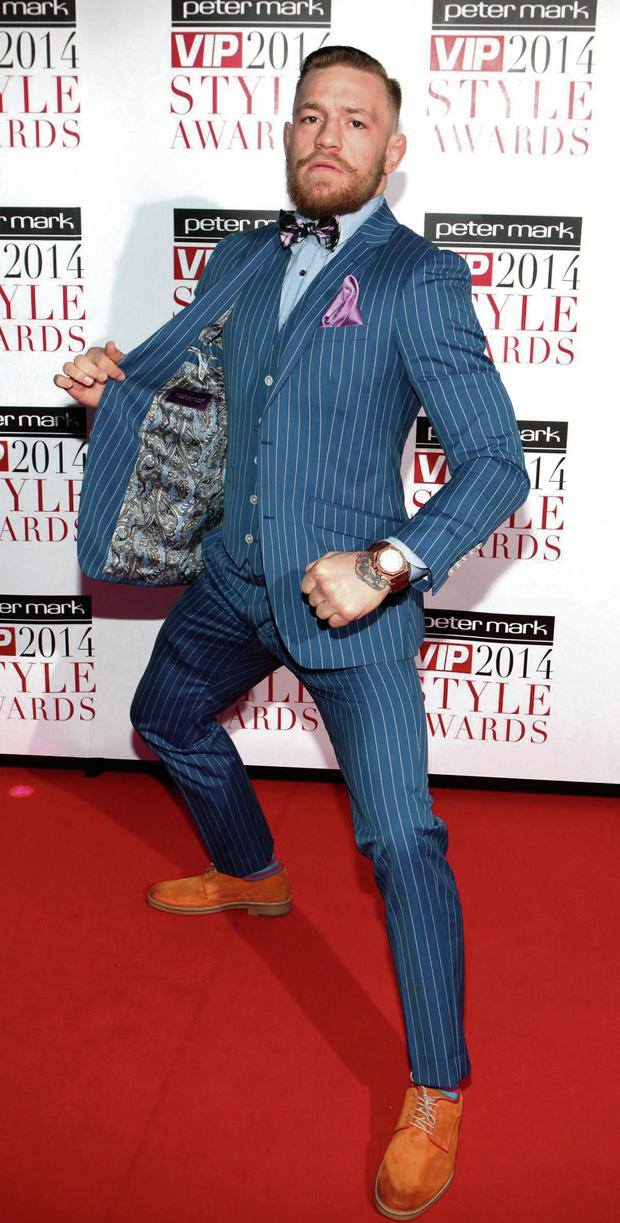 Conor McGregor at the VIP Style awards.