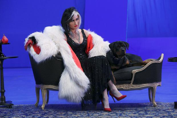 Victoria Smurfit as Cruella de Vil in Once Upon A Time