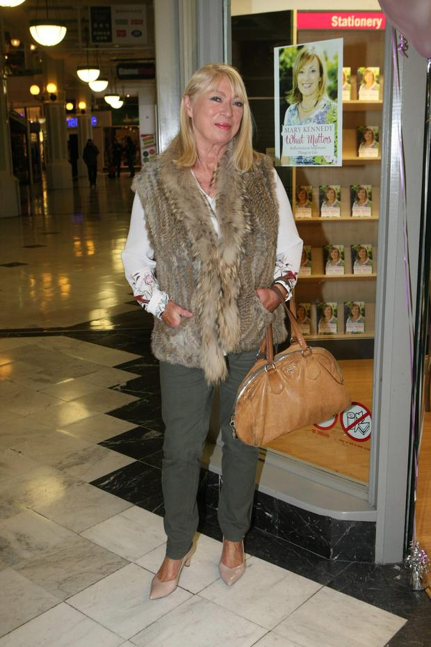 Anne Doyle launches 'What Matters' in Eason, Dublin.