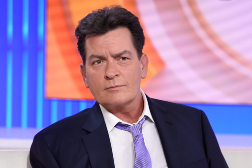 Charlie Sheen is interviewed on NBC's 'Today' show in New York where he spoke about his HIV diagnosis