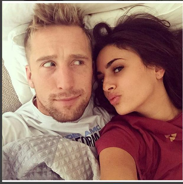 Dominic Day and Nadia Forde.