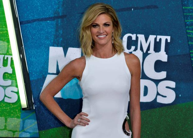 Sports reporter Erin Andrews was filmed naked in her hotel room