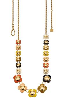 Long flower necklace, €229, from the Orla Kiely range.