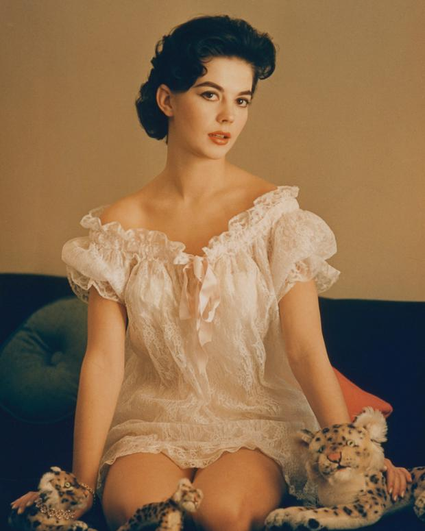 Actress Natalie Wood in a photo shoot circa 1960. Photo: Getty