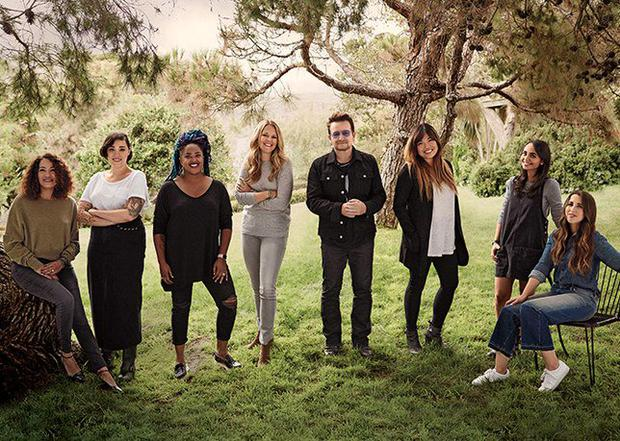 Bono Becomes First Man To Make Glamour's Women Of The Year