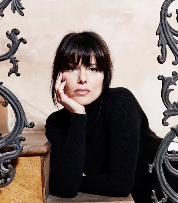 Back in black: Imelda May shows off her new look