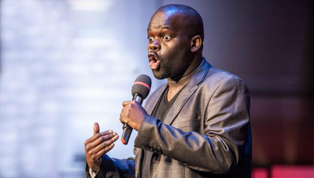Daliso Chaponda says his new show, 'What The African Said' , will be 'informative but funny'