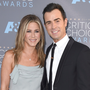 Theroux described his split with Aniston as a small event